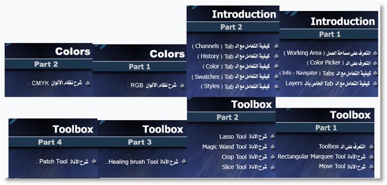 الاسطوانات التعليمية للفوتيشوب العربية 18101.imgcache