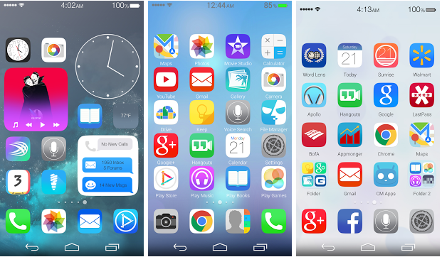 Ultimate iOS8 Launcher Theme Apk • IndexOfDownload Com