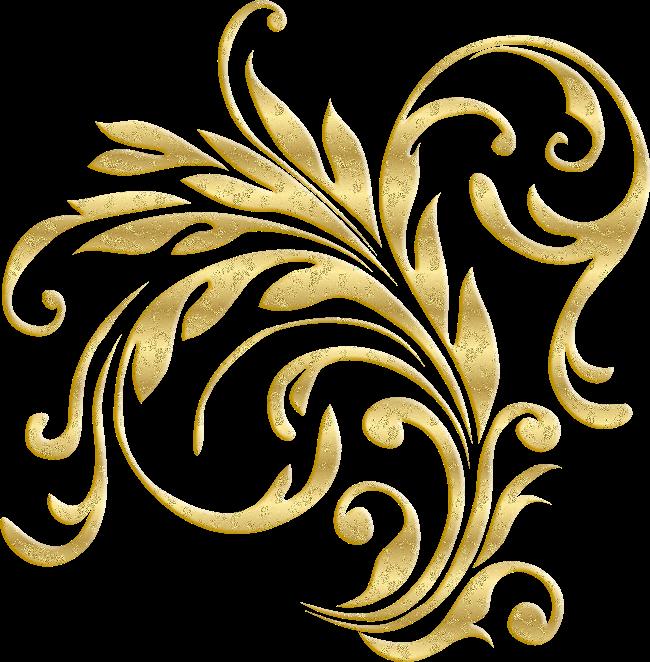 سكرابز اسم زخرفة ذهبية Png