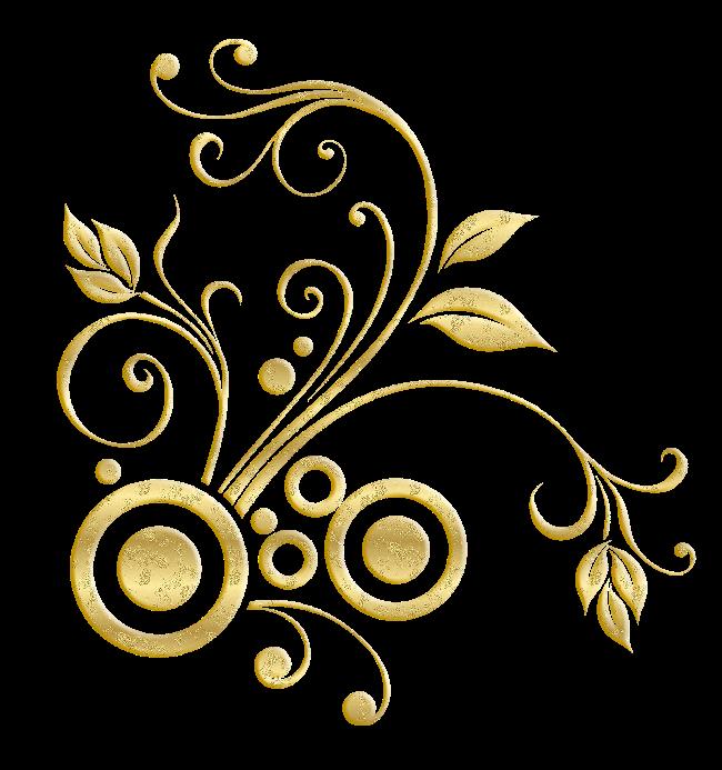 زخارف ذهبية رآئعة للتصميم 2016 القلم الذهبي