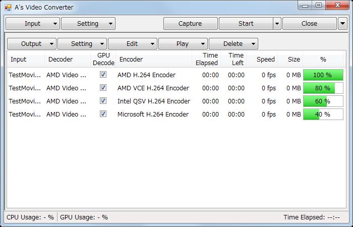 برنامج تحويل الفيديو والافلام الى صيغة MP4 الشهير A's Video Converter 7.1.1