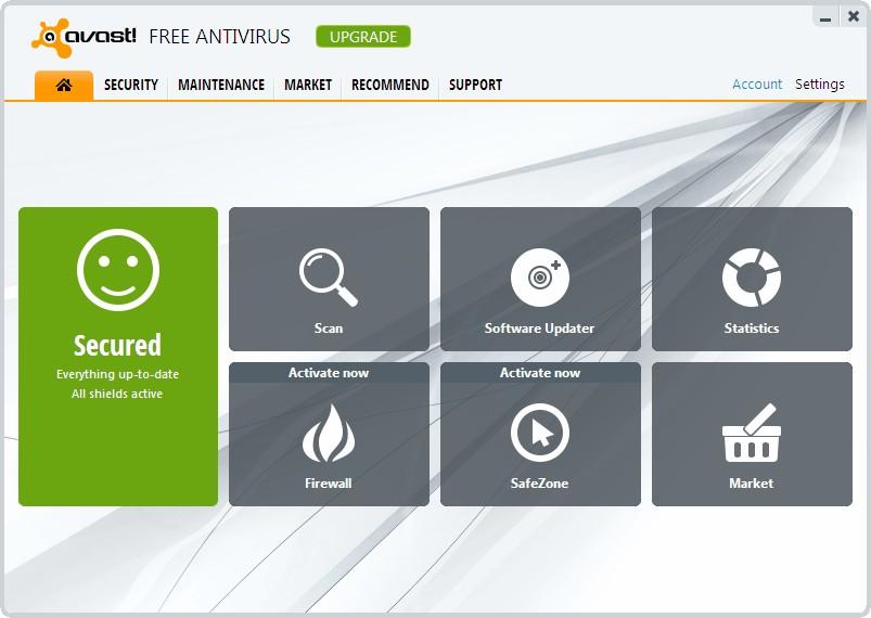 الحماية الفيروسات Avast! Free Antivirus 33005alsh3er.png