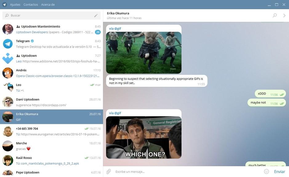 المحادثة والدردشة تيليجرام Telegram Desktop 34082alsh3er.png