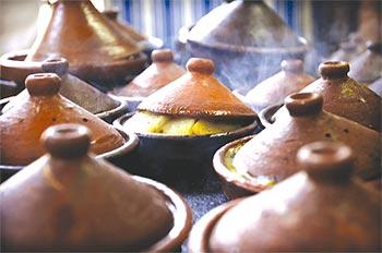 صور المطبخ المغربي التقليدي