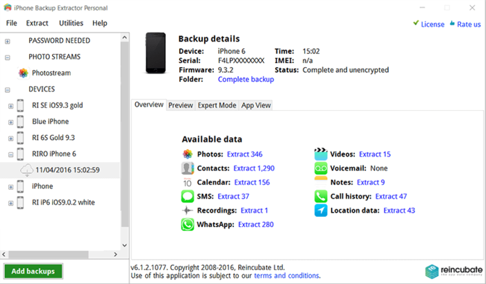 استخراج الايفون iPhone Backup Extractor 34630alsh3er.png