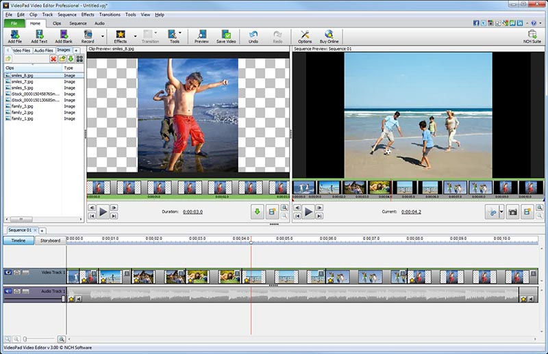 الفيديو VideoPad Video Editor 6.22 35965alsh3er.png