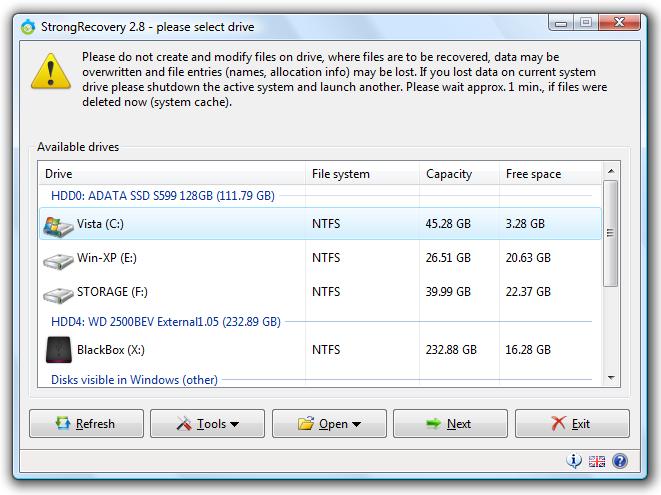 استعادة الكمبيوتر StrongRecovery 3.9.3.1 36207alsh3er.png
