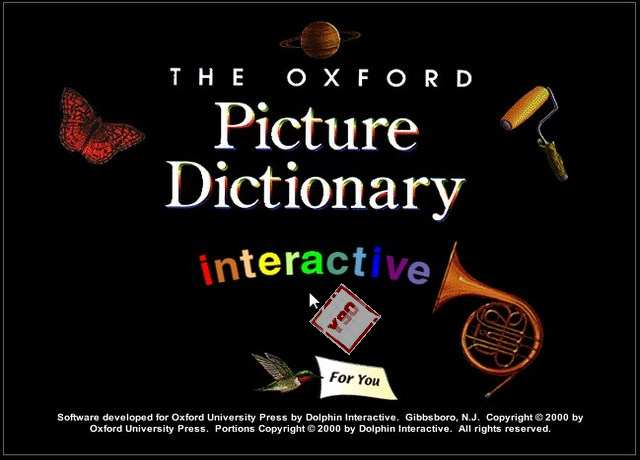 Oxford Picture Dictionary Interactive الأسطوانة 36871alsh3er.jpg