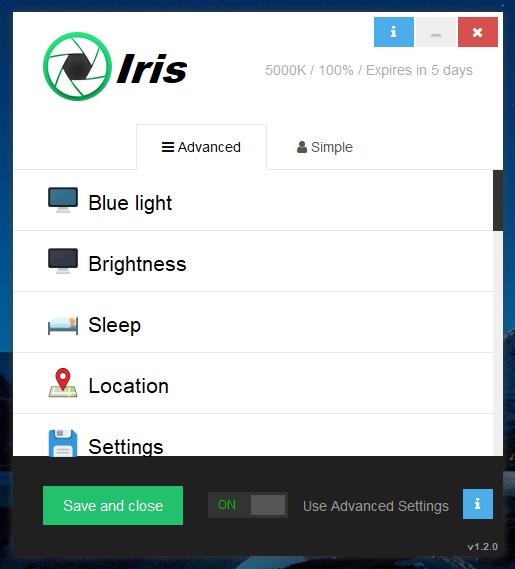 الحاسوب البرنامج Iris 37434alsh3er.png